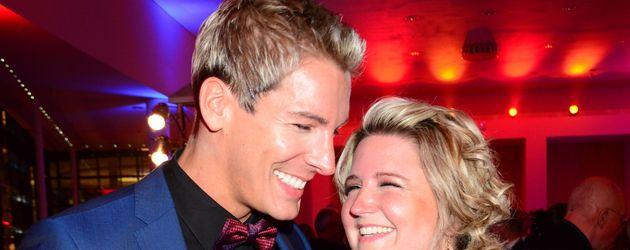 "Norman Langen und seine Freundin Verena De-Haan bei der ""Jose Carreras Gala"" in Berlin"