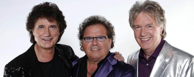 """Olaf Malolepski, Manfred Durban und Bernd Hengst von """"Die Flippers"""""""