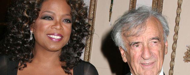 Oprah Winfrey mit Elie Wiesel
