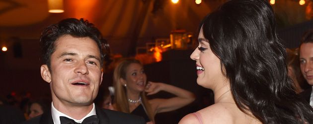 Orlando Bloom und Katy Perry auf einer Party im Januar 2014 in Los Angeles