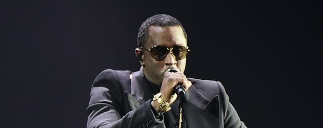 P. Diddy bei einem Konzert in New York City