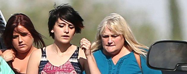 Debbie Rowe und ihre Tochter Paris Jackson