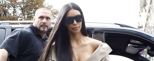 Pascal Duvier und Kim Kardashian in Paris