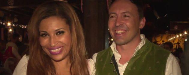Patricia Blanco und ihre Bekanntschaft Andy auf dem Oktoberfest 2016
