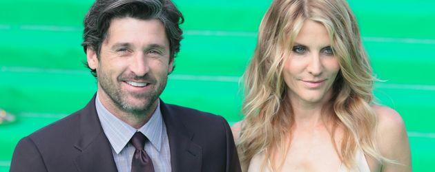 """Patrick Dempsey und seine Frau bei der """"Transformers 3""""-Premiere"""