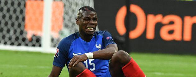 Paul Pogba beim EM-Spiel Frankreich gegen Rumänien 2016