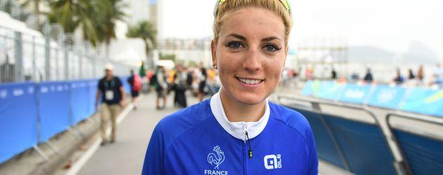 Pauline Ferrand-Prevot bei den Olympischen Spielen 2016