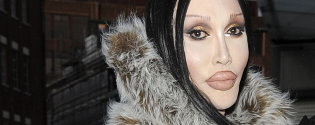 "Pete Burns auf der ""London Fashion Week"""