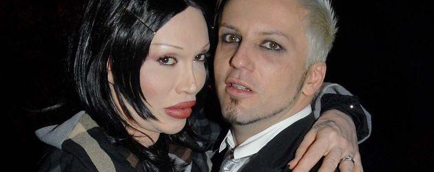Pete Burns und sein Ehemann Michael Simpson