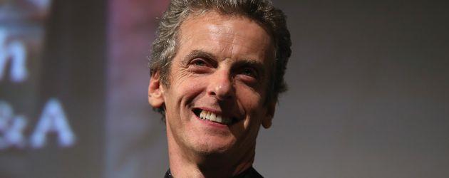 """Peter Capaldi bei der Premiere von """"Doctor Who"""" in London 2014"""