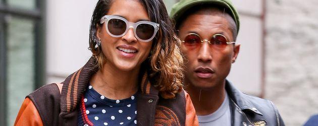 Pharrell Williams und Helen Lasichanh