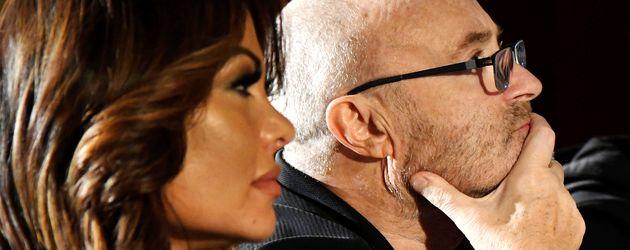 "Phil Collins und Orianne Cevey bei den ""Little Dreams Foundation Auditions"""