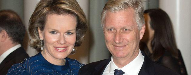 Mathilde von Belgien und Philippe von Belgien
