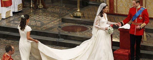 Die königliche Hochzeit von Prinz William und Kate Middleton