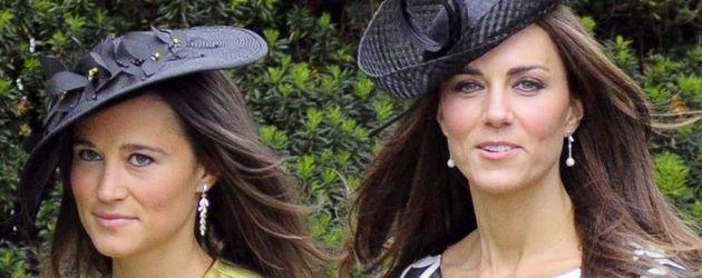 Pippa Middleton und ihre Schwester, Herzogion Kate