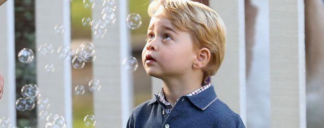 Prinz George und seine Schwester Prinzessin Charlotte in Kanada