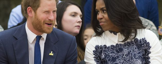 Prinz Harry und Michelle Obama