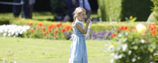 Prinzessin Estelle beim 40. Geburtstag ihrer Mutter