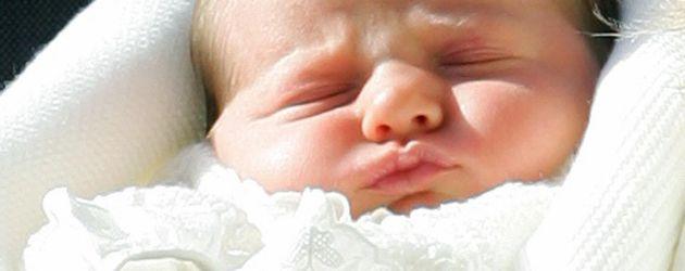 Prinzessin Leonor nach ihrer Geburt in Spanien 2005