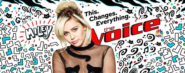 Promo für Miley Cyrus bei The Voice