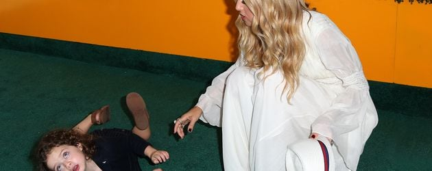 Kaius Jagger Berman und Rachel Zoe in L.A.
