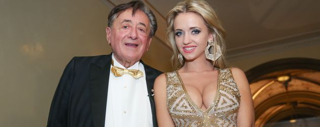 Richard Lugner mit seiner Frau Cathy