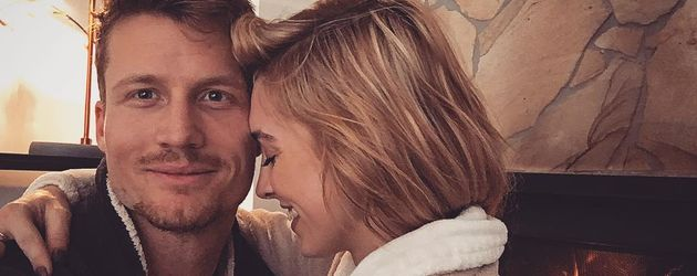 Richie Strahan und Alexandra Nation