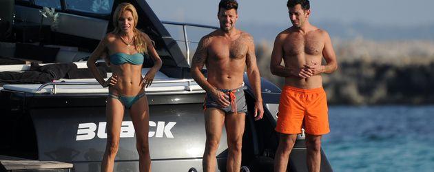 Ricky Martin und sein Freund Jwan Yosef urlauben gemeinsam mit einer Freundin