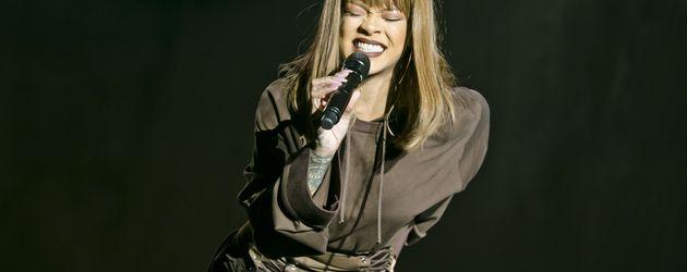 Rihanna beim Sziget Festival in Budapest