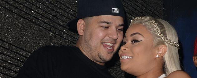 Rob Kardashian und Blac Chyna in Miami