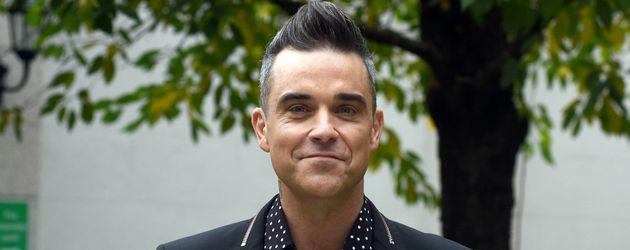 Vorfreude bei Robbie Williams auf Konzert-Tournee