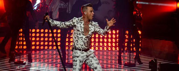 Robbie Williams performt beim ITunes Festival