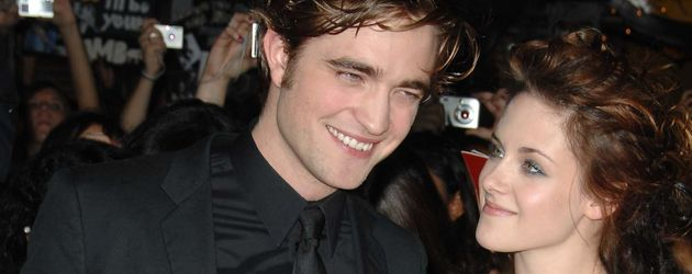 Robert Pattinson und Kristen Stewart im Jahr 2008