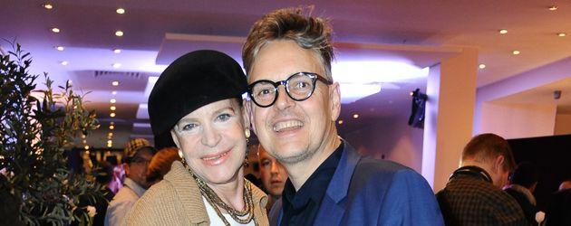 Barbara Herzsprung und Rolf Scheider