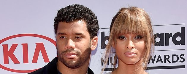 Russell Wilson und Ciara bei den 2016 Billboard Music Awards
