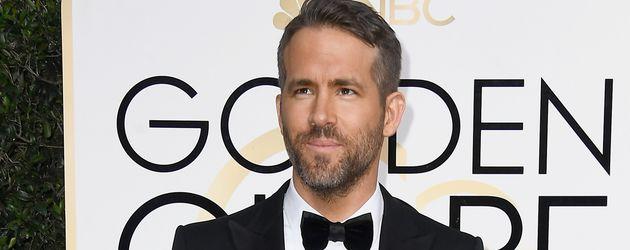 Ryan Reynolds bei den 74. Golden Globes in Los Angeles