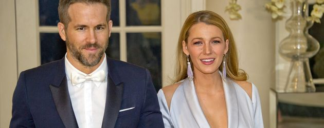 Ryan Reynolds und Blake Lively im März 2016 in Washington