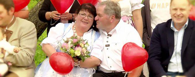 """Sabine und Albert, bekannt aus """"Bauer sucht Frau"""""""