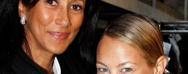 ... Alessandra Meyer-Wölden mit ihrer Mutter Antonella ...
