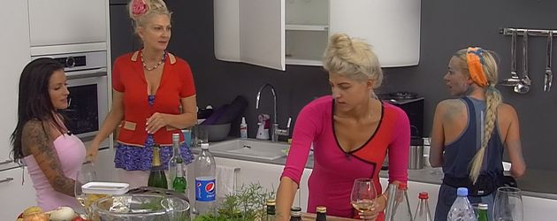 Sarah Nowak, Julia Jasmin Rühle, Désirée Nick und Nina Kristin
