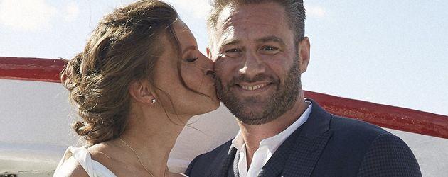 Sasha und seine Julia bei ihrer ersten Hochzeit (Hamburg 2015)