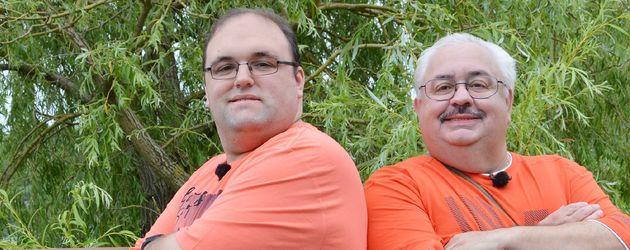 """""""Schwiegertochter gesucht""""-Ingo mit seinem Vater"""