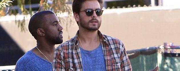 Kanye West und Scott Disick