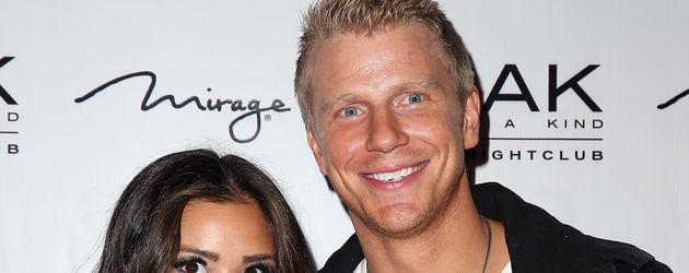 Catherine Giudici und Sean Lowe, TV-Paar aus der 17. Bachelor-Staffel