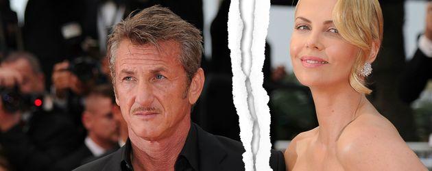 Charlize Theron und Sean Penn