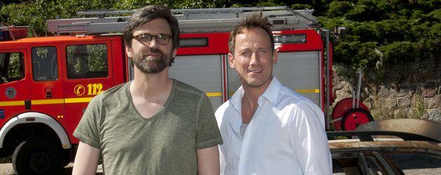 Wotan Wilke Möhring und Sebastian Schipper