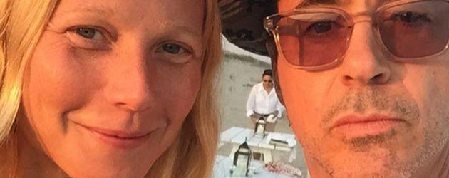 Gwyneth Paltrow und Robert Downey Junior