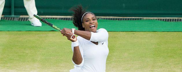 Serena und Venus Williams beim Grand Slam Turnier in Wimbledon