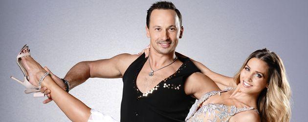 """Sergiu Luca und Model Ann-Kathrin Brömmel tanzen für """"Let's Dance"""""""