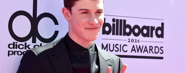 Shawn Mendes auf dem Red Carpet der Billboard Music Awards 2016